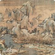 中国名画·宋代篇—江山秋色图(赵伯驹)