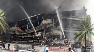 2016.09.10【英译中】孟加拉通齐工厂着火,至少15人死亡