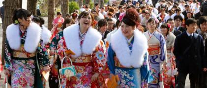 日本习俗之成人日介绍