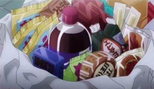 你身上布满糖果的香甜