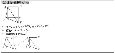 【每日一题】初二数学下学期期中复习--Day39初中几何模型(一)。