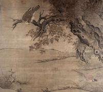 中国名画·宋代篇—枫鹰雏鸡图(李迪)