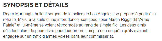 170427【didi 法语影视厅】《L'ARME FATALE 3.1992》 法语版