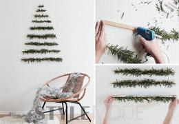 【时尚物语】圣诞将至!10款DIY简易圣诞树温暖你的小窝