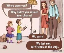 和孩子角色互换一天,你对尊重和爱的理解将大不同(漫画)