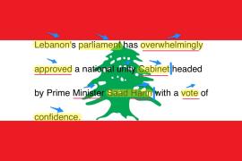 【标V模仿秀】黎巴嫩新政府 01.11