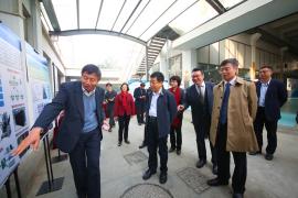 教育部部长陈宝生一行来上海大学调研