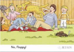 【跟着糖豆妈学牛津阅读树】level1,1-14 Floppy Floppy