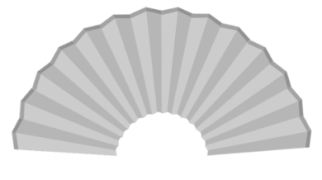 PS小技巧 | 古代装逼必备神器——折扇