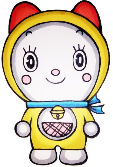 【迷之简笔画】哆啦a梦の妹妹哆啦美