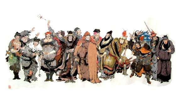 水浒传人物外号是中国四大名著之一,全书描写北宋末年以宋江为首的108