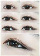 内双怎么画眼线?五步让你变身大眼MM