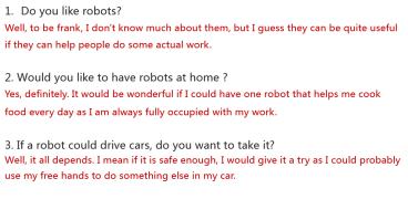 《雅思口语高分课堂》-- 趴碗 (机器人)