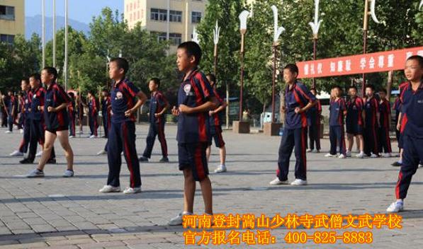 4岁学校去少林寺视频小孩学武,不太小南风文武贾图片