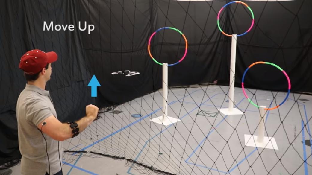 麻省理工的新技术:用手势就能控制无人机