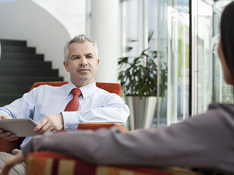 interview with businessman The best businesses come from people's bad personal experiences if you just keep your eyes open, you're going to find something that frustrates you, and then you think, 'well i could maybe do it better.