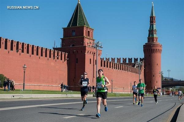 第五届莫斯科马拉松于昨日举行!