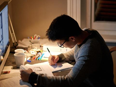 有声双语美文:忙碌并不代表能干