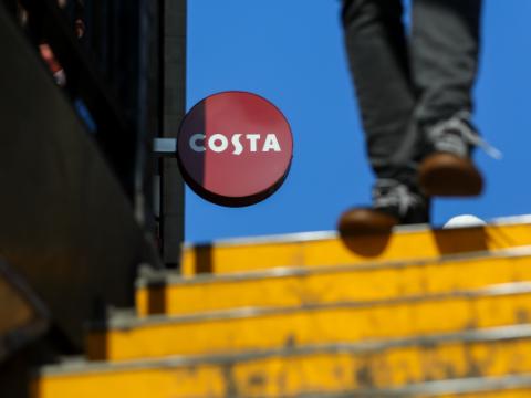 1杯Costa咖啡等于3瓶红牛?外媒说咖啡因太高