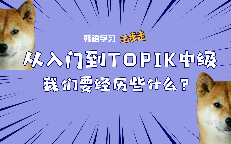 零基础自学韩语,多久能考过TOPIK中级?