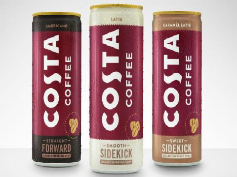 一词日历:可口可乐和Costa合作推出罐装咖啡,包装还挺好看