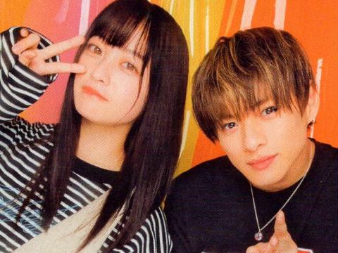 """当桥本环奈遇上平野紫耀,网友:""""好像在表演夫妇漫才""""。"""