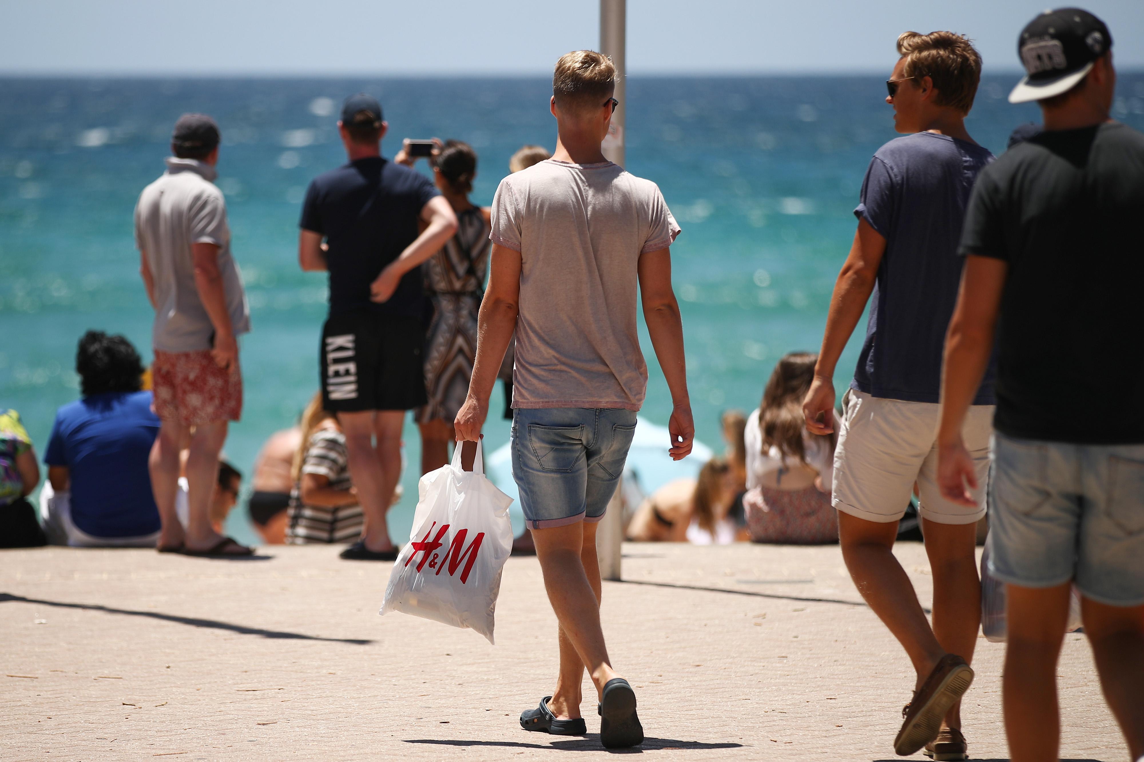 H&M现在成了二手市场的抢手货