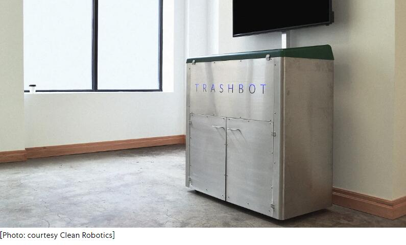 美国出现智能垃圾桶,自动帮你垃圾分类