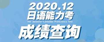 2020.12能力考成绩查询