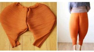"""国外大热的""""炸鸡腿裤"""",你敢穿么?"""