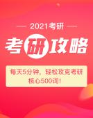 【2021考研】备考必备锦囊