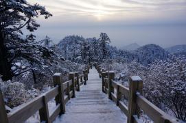 到西岭雪山看雪去