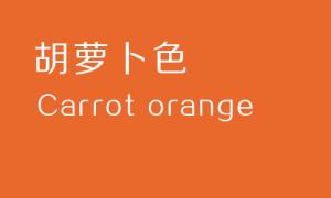配色宝典:让设计师重新全面认识色彩系列——橙色篇